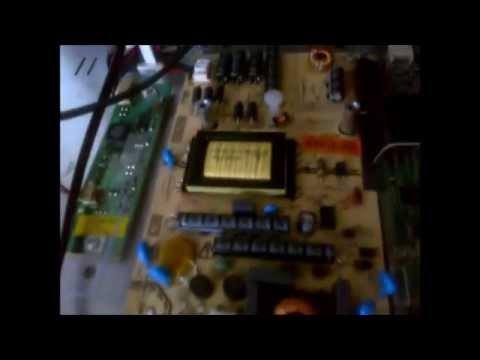 techwood led tv dvd combi no power model tech24hdleddvd youtube. Black Bedroom Furniture Sets. Home Design Ideas