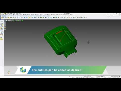 MOULD - Mould to body | VISI 2022.0