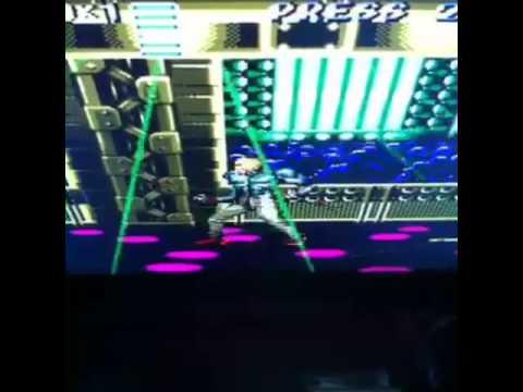 Zan is a disco cyborg badass! Streets of Rage 3 on the Megadrive