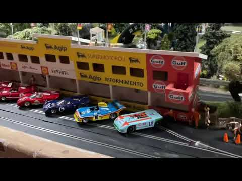 A little trip around the Deception Raceways slot car track and layout
