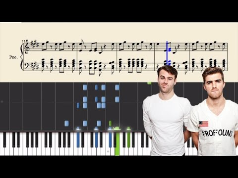 The Chainsmokers - Roses - Piano Tutorial + Sheets