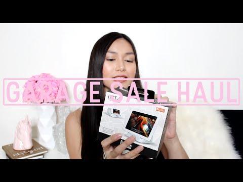 GARAGE SALE HAUL | XSHOP: Makeup. Decor. Furniture