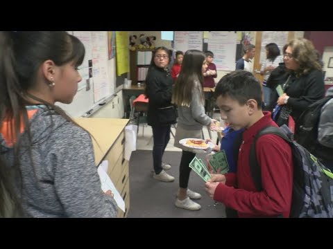Fifth graders at South Valley school learn what it takes to open a business