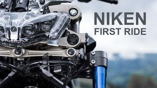 Yamaha NIKEN - First Ride