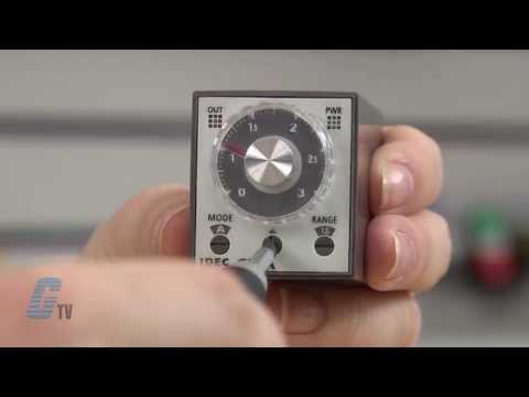 "IDEC ""GT3A"" Series Analog Timer Relays - A GalcoTV Overview"