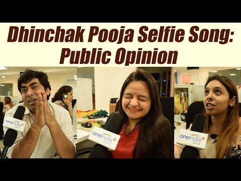 Dhinchak Pooja Selfie Song: Public Opinion on Her 'Singing Talent'   FilmiBeat
