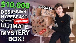 $10,000 DESIGNER HYPEBEAST MYSTERY BOX... **INSANE
