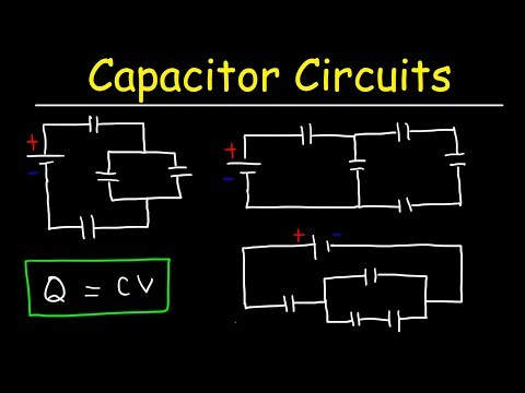 How To Solve Any Circuit Problem With Capacitors In Series and Parallel Combinations - Physics