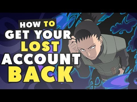 HOW TO GET/RECOVER YOUR LOST ACCOUNT BACK! | NARUTO SHIPPUDEN ULTIMATE NINJA BLAZING
