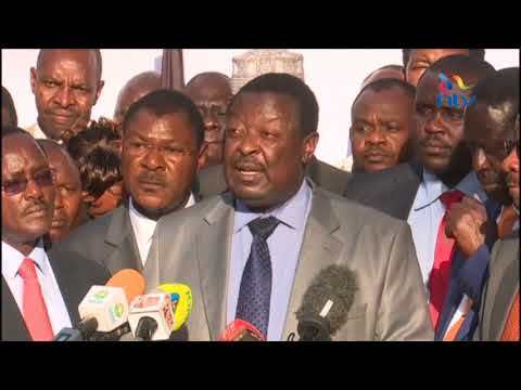 The withdrawal of our candidates is in Kenya's best interest - Musalia Mudavadi's statement