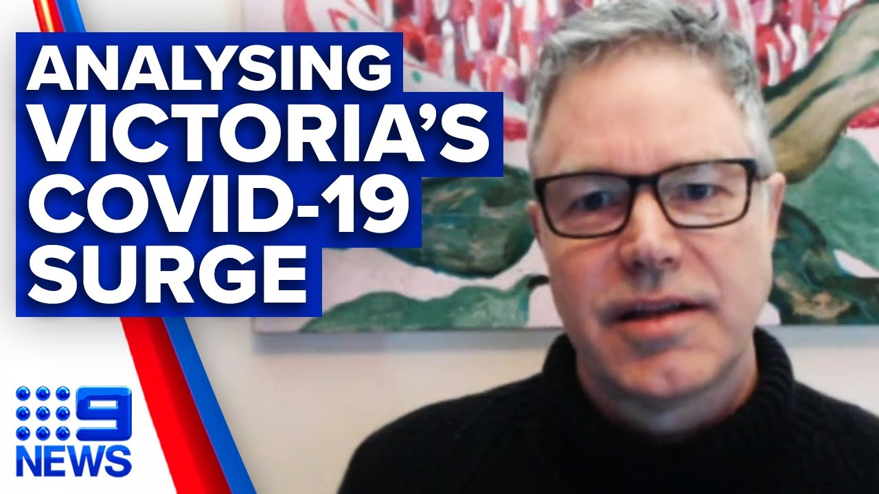 "Coronavirus: CSIRO Health Director on Victoria's COVID-19 ""bushfire"" | 9 News Australia"
