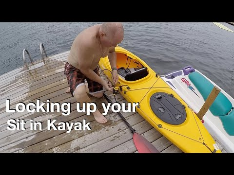 How to Lock up your Sit in Kayak!