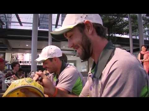 Glenn Maxwell takes you behind the rope