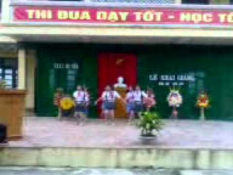 THCS Hà Tiến - Văn nghệ Khai giảng năm học 2010-2011.3gp