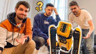 J'emmène mon chien robot chez des youtubers (Joyca, Mastu, Lebouseuh)