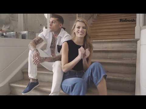 Bregje Heinen for Refresh Shoes Spring 2018 Campaign