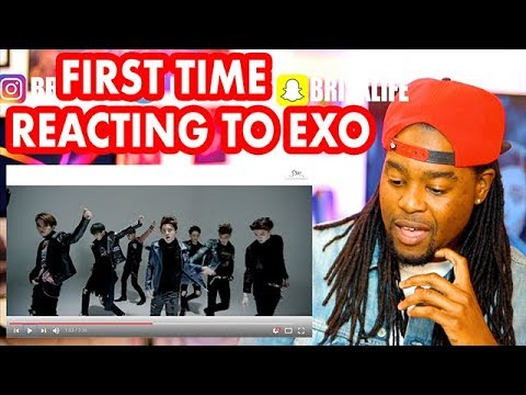 EXO 엑소 CALL ME BA  FIRST TIME REACTING TO EXO  MV  REACTION!!!