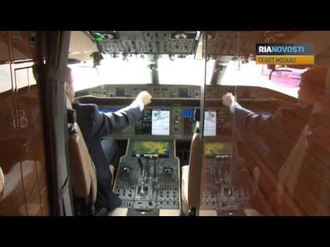 Mit Luxus In Der Luft: Businessjets In Moskau Präsentiert