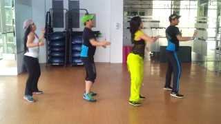 Zumba Que Suenen los Tambores-Laritza Bacallao by Honduras Dance Crew