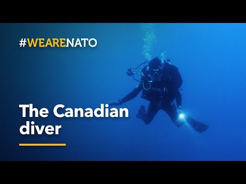 Searching the ocean depths - the Canadian Diver - #WeAreNATO
