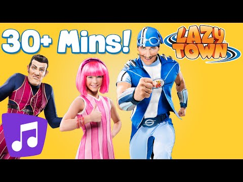 Lazy Town I Music Video and Songs MegaMix