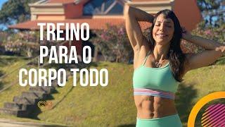 🔴 Treinão para o corpo todo - Carol Borba