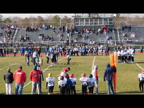 2016 Atlantic County(NJ) Pee Wee All Star Football (1st half)