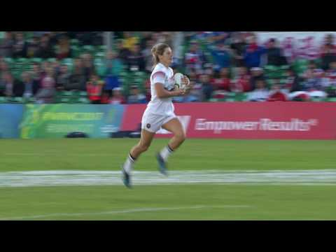 Highlights: France beat Japan 72 - 14 at Women's Rugby World Cup