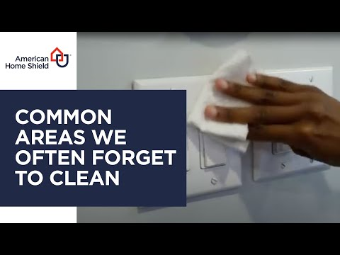 Home Inspection - Common Areas We Forget To Clean - American Home Shield from YouTube · Duration:  26 seconds