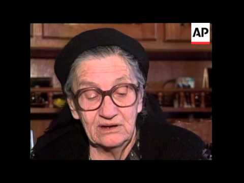 Exclusive interview with mother of Radovan Karadzic