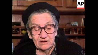 Exclusive interview with mother of Radovan Karadzic