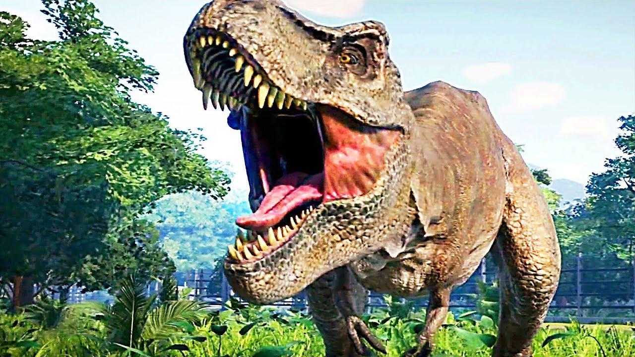 Jurassic world evolution trailer 2018 jeu vid o avec des - Dessiner dinosaure ...