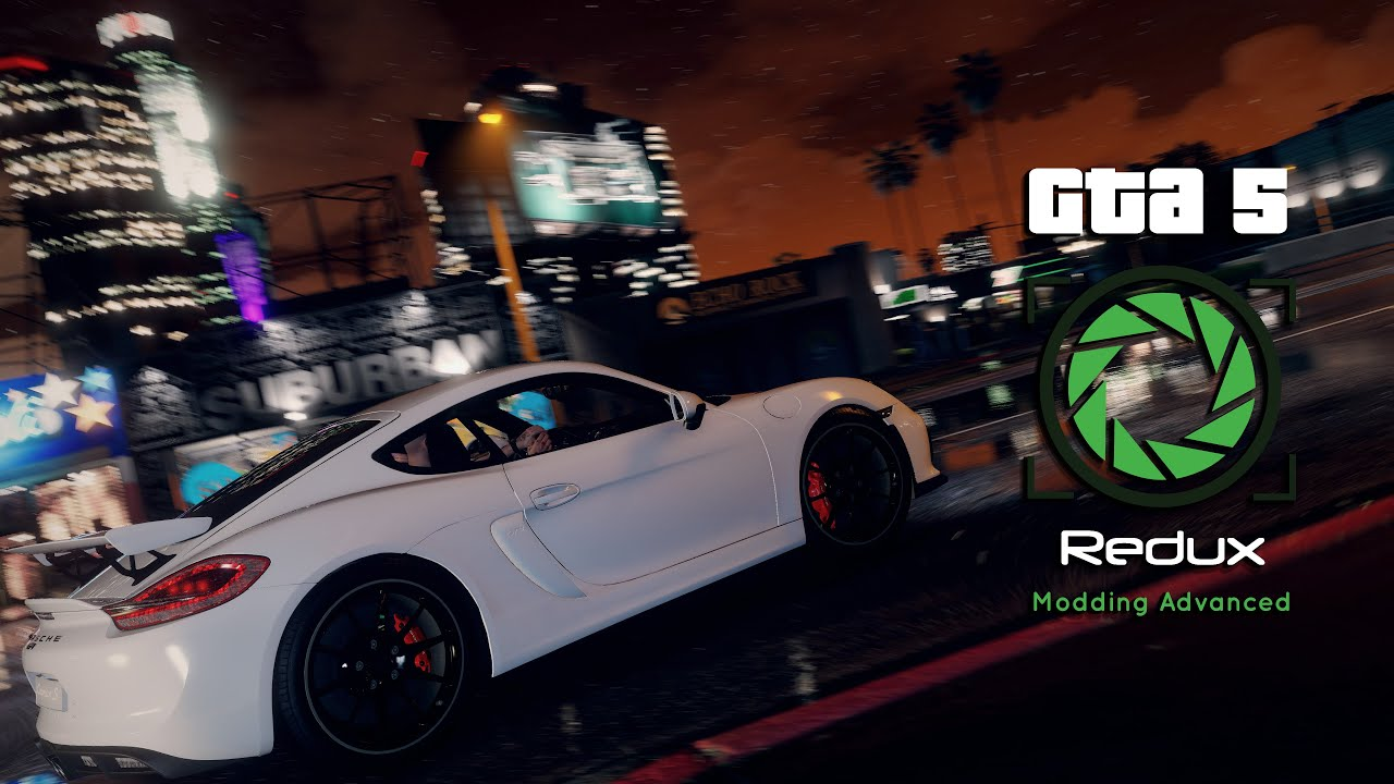 Grand Max Modification >> GTA 5 REDUX GRAPHICS MOD NEW RELEASE DATE TRAILER! - YouTube