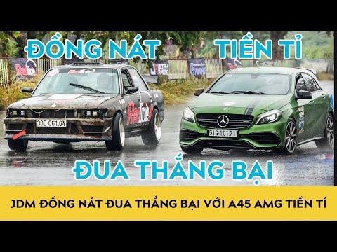JDM Toyota Cressida 1990 đua Mercedes A45 AMG - Đồng nát thắng Tiền tỉ??? | Autodaily