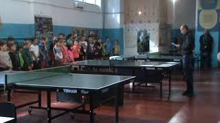 настольный теннис Николаев 04.04.2018