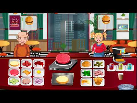 BURGER RESTAURANT - COOKING GAME 2018 2019 FREE MOBILE GAMES FOR IOS ANDRIOD GAMEPLAY