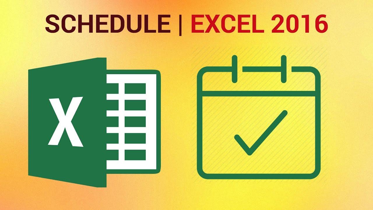 build amortization schedule in excel