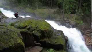 Silver Falls Mt Rainier National Park