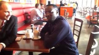 Andrew Eaton interviews Pastor Elias Ndeda