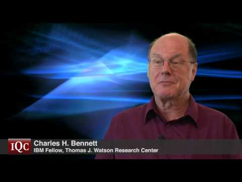From molecular biology to quantum computing - Charles H. Bennett