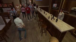 Симулятор пьяной драки в баре. (Часть 2) Drunkn Bar Fight. HTC Vive.+18