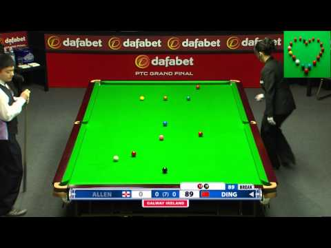 【Snooker 147 】Ding Junhui  2013 Snooker PTC Grand Finals