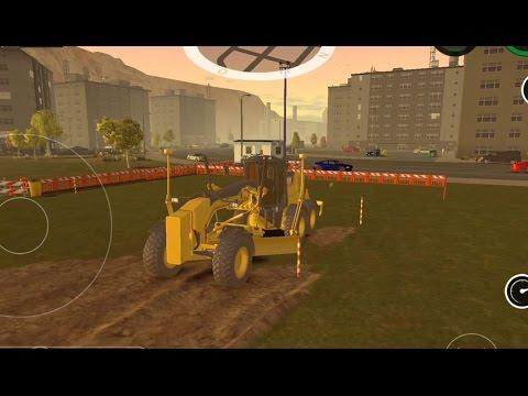 Motor Grader Simulator