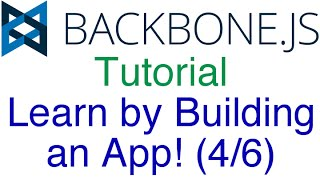 Express, MongoDB, Mongoose, RESTful API (Learn Backbone.js Tutorial by Building an App (4/6)!)