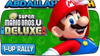 ALL 1-UP RALLY CHALLENGES 🏆 | New Super Mario Bros U Deluxe (Nintendo Switch)