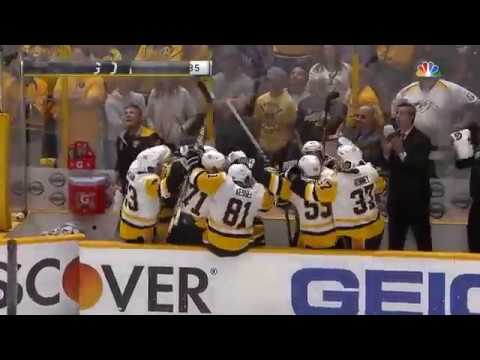 Hornqvist Game Winning Goal Game 6 Stanley Cup Finals 2017 (HD)