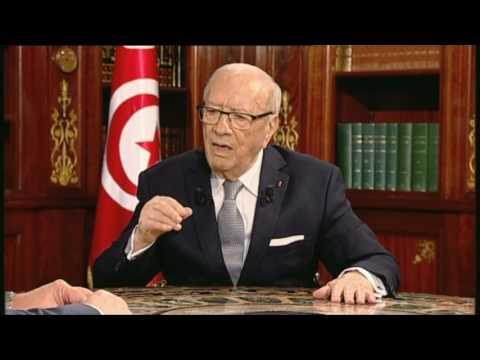 Interview du président de la République tunisienne