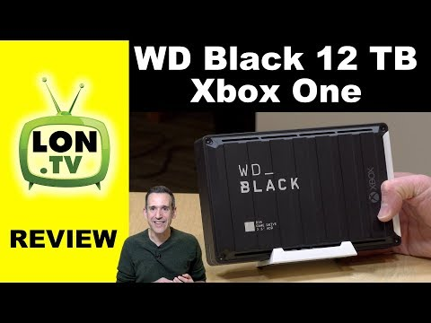 WD Black 12 TB D10 External Drive for Xbox One (and PC) Review