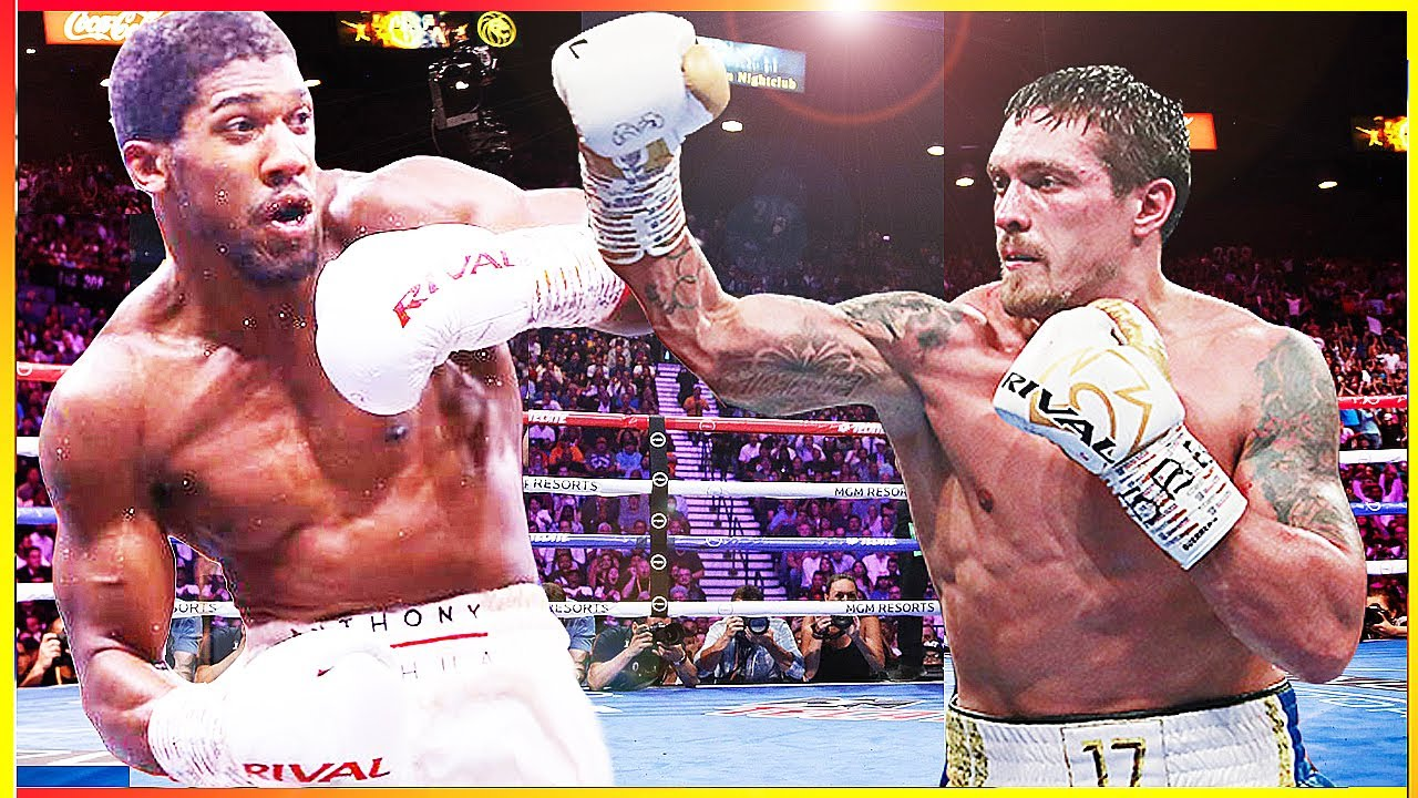Anthony Joshua vs Oleksandr Usyk 2021 - Clash Of The Olympic Champs