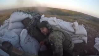 Бой #ВСУ Горловка война в Украине - Донбасс - АТО ООС - бойові дії в Україні війна